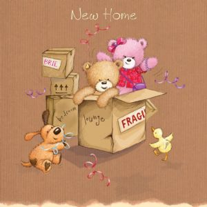New Home Welcome Card